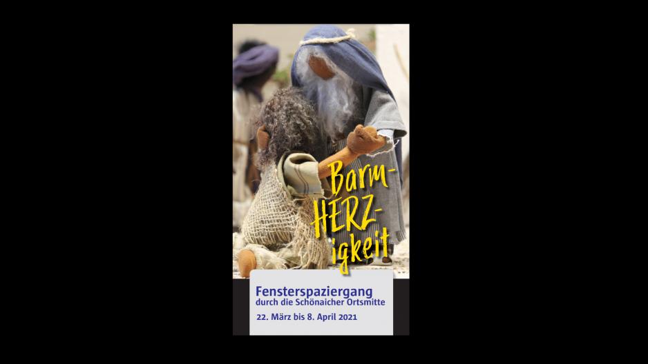 """""""Barm-HERZ-igkeit"""" Fensterspaziergang"""